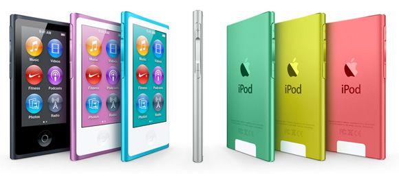 iPod nano nuevos Conferencia de Apple: iPhone 5, nueva gama iPod e iOS 6