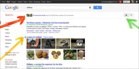 imagen 1 Google integra Google+ en su buscador