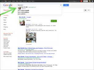 imagen 2 Google integra Google+ en su buscador
