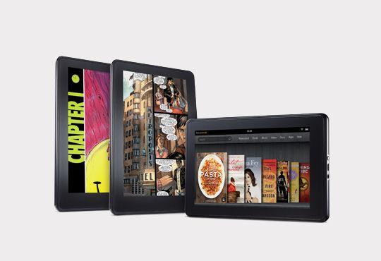 kindle fire Los Kindle Fire podrían superar las ventas de iPads en Navidades