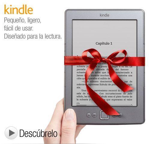 kindle Amazon abre su tienda de ebooks para Kindle en España
