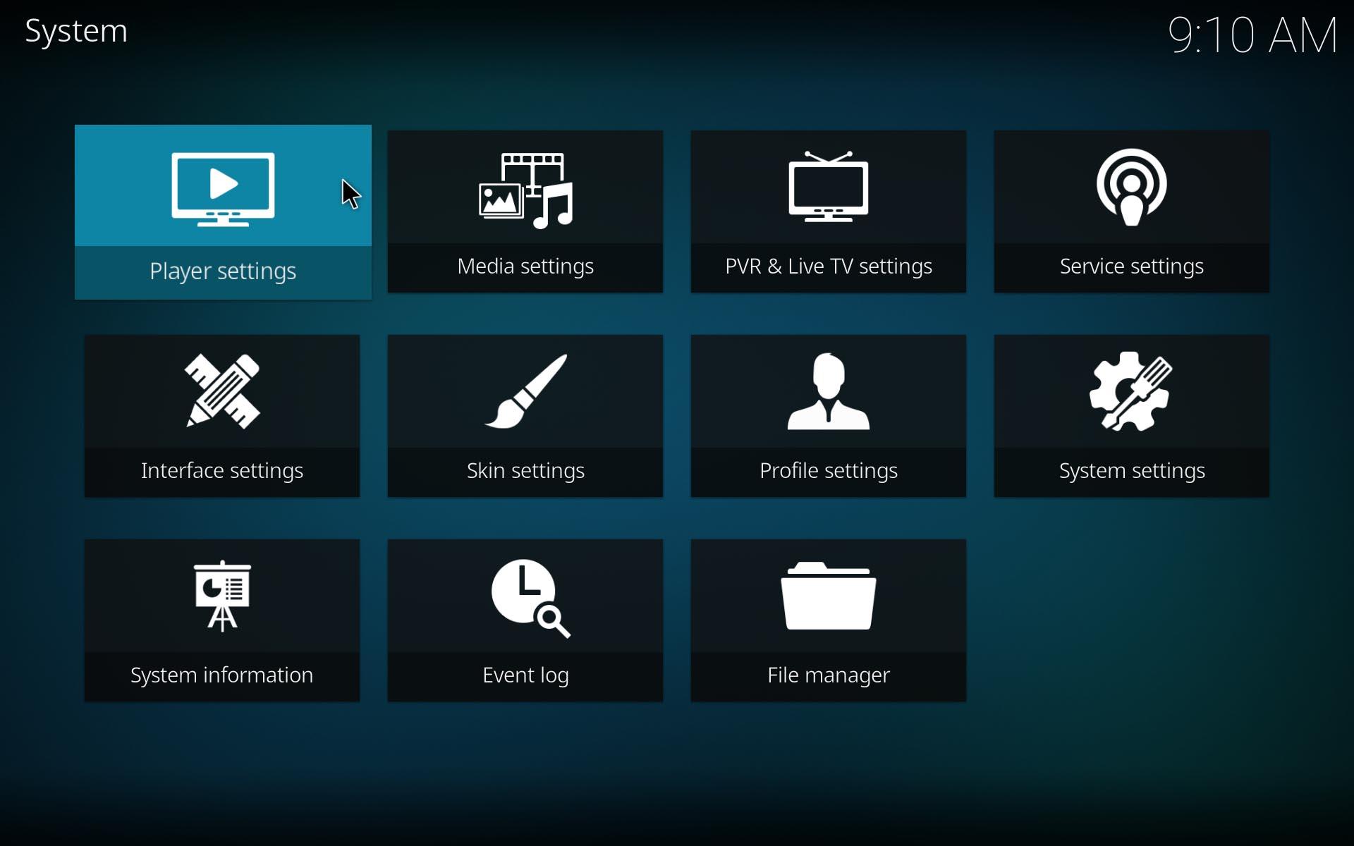 "kodi 17 screenshot 4 Ya disponible el nuevo Kodi 17.0 ""Krypton"""
