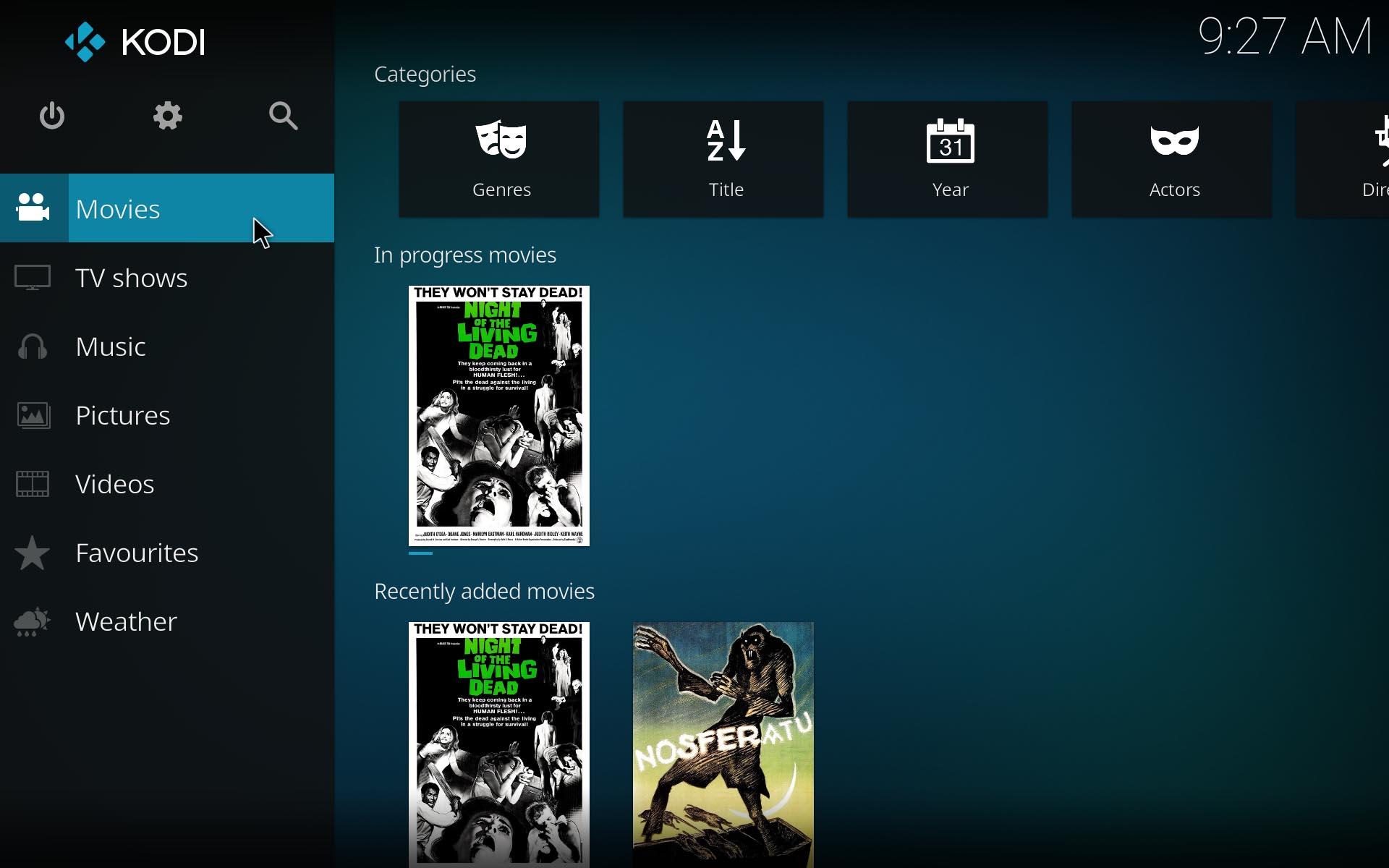 "kodi 17 screenshot 5 Ya disponible el nuevo Kodi 17.0 ""Krypton"""