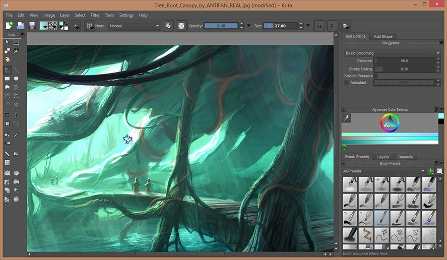 Image Gallery Krita Painting Software