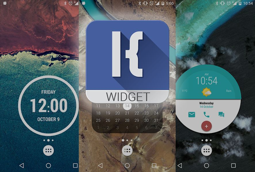 how to create a widget in android