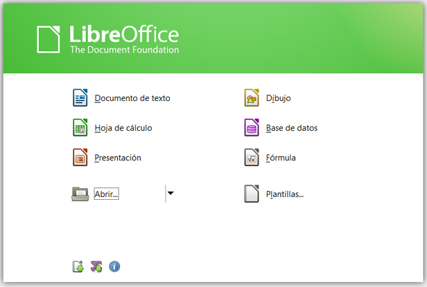 libreoffice menu