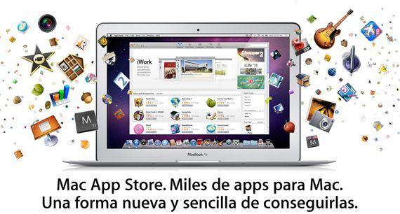macapplestore Mac App Store supera los 100 millones de descargas