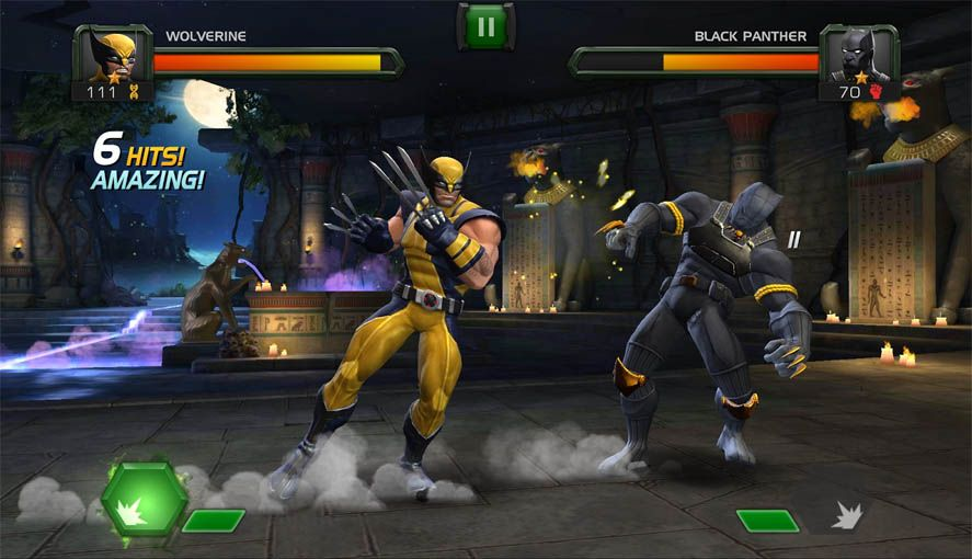 play marvel avengers games online