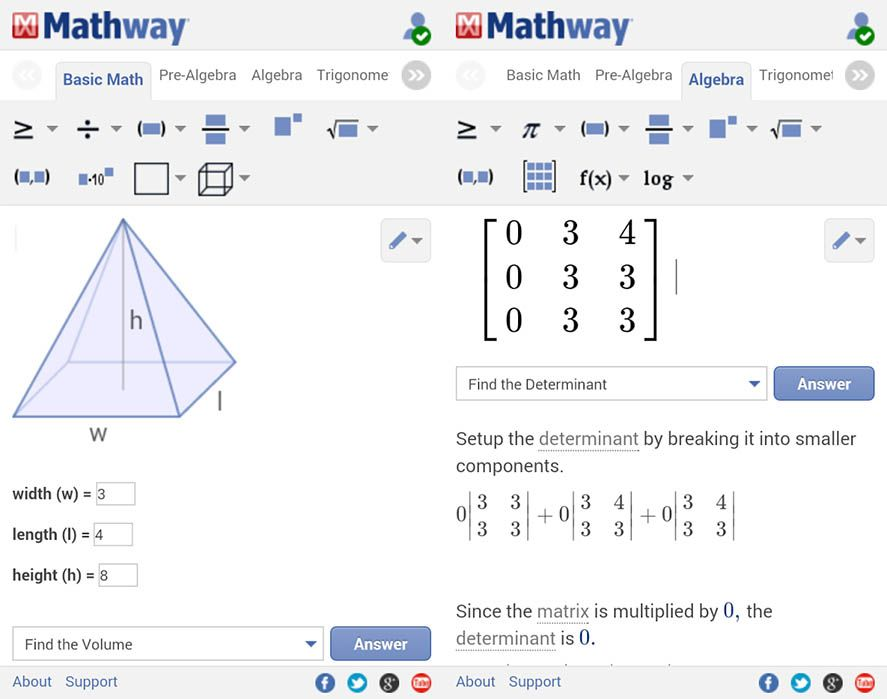Android apps to help you with math