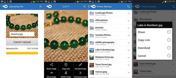 mediandroid capturas MediaFire mobile cloud storage is now available for Android