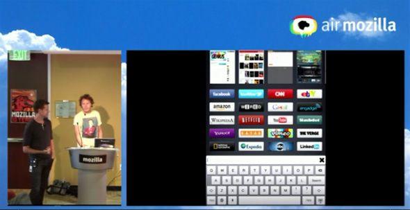 mozilla junior1 Mozilla desarrolla Junior, un navegador sencillo para iPad