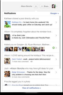 notifications Google+ ha anunciado las últimas novedades de este año