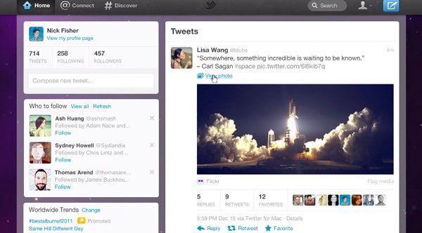 nuevo twitter Twitter renueva su diseño y presenta páginas para empresas
