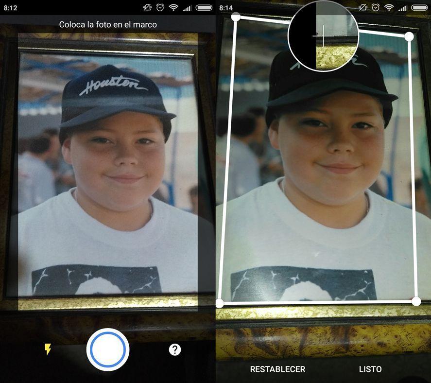 photoscan 1 1 screenshot Google Photoscan captures your snapshots in higher quality
