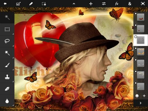 photoshop touch00 Adobe lanza Photoshop Touch para iPad