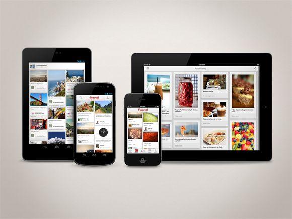 pinterest La aplicación de Pinterest llega a Android
