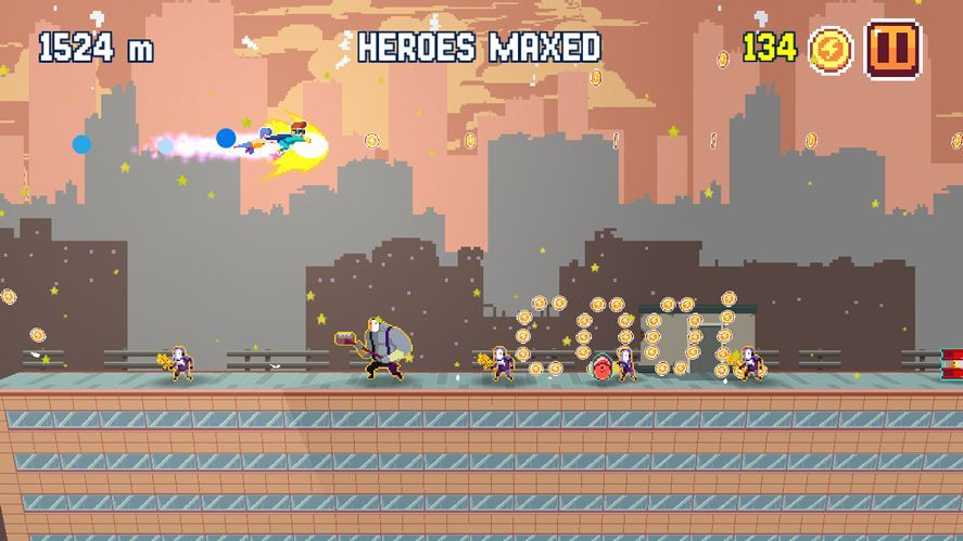 Pixel Super Heroes Android