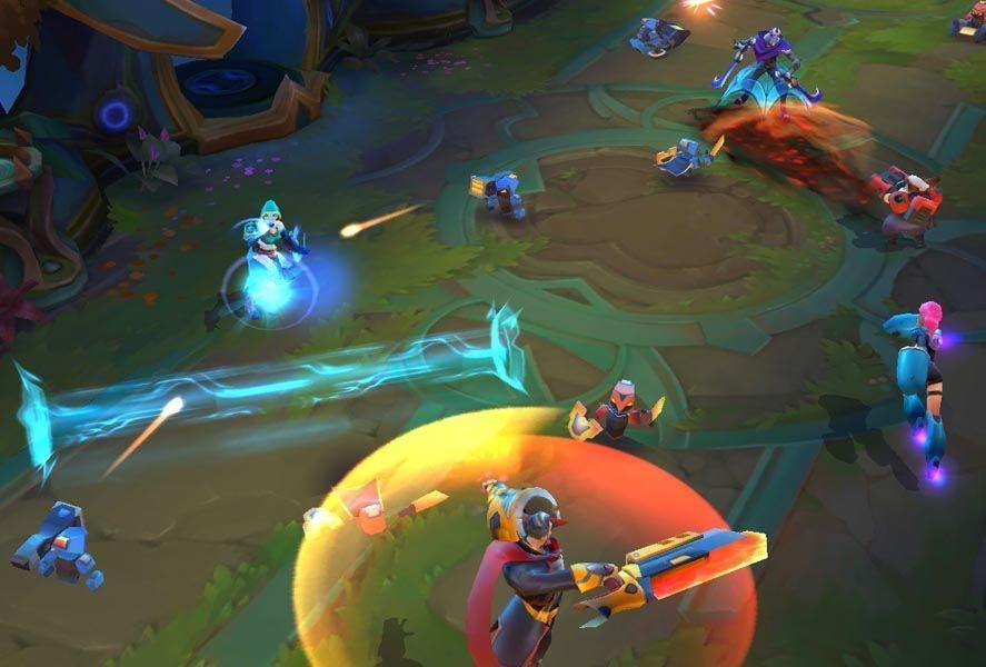 planet of heroes screenshot El MOBA Planet of Heroes ya está disponible para todos los usuarios