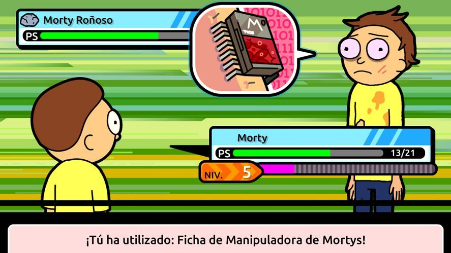 Pocket Mortys Rick and Morty