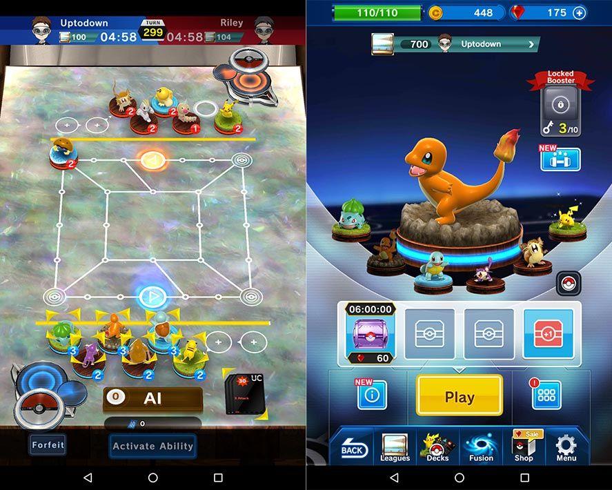 pokemon duel screenshot 2 Disponible Pokemon Duel, el nuevo juego oficial para Android