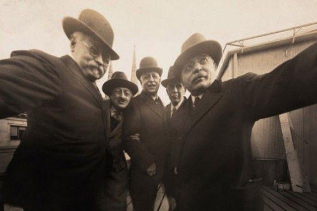 primer selfie grupo