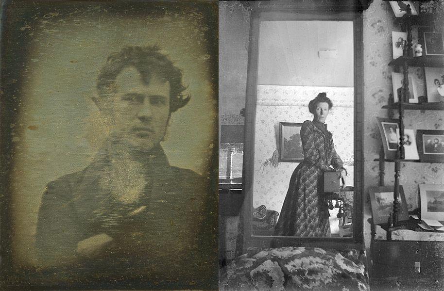primeros selfies
