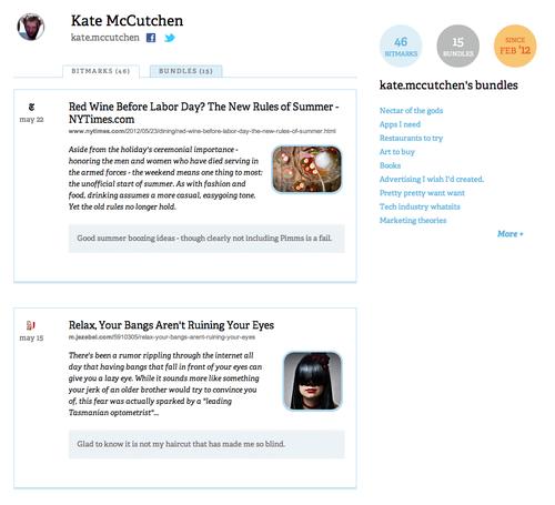 profile kate cropped Bit.ly añade un servicio para guardar tus enlaces favoritos