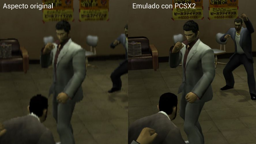 ps2-yakuza-emulado-comparado