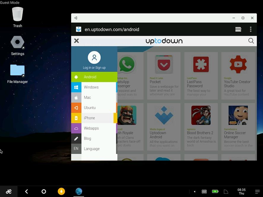 remix-os-uptodown-virtualbox