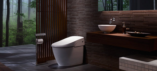 retrete inteligente Japanese developers create an intelligent bathroom controlled by Android