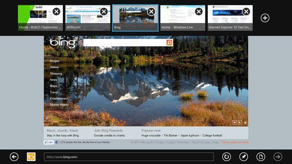 screenshot IE10 page Descubre Windows 8 y descarga su versión Preview