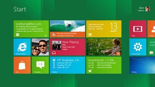 screenshot startScreen page Descubre Windows 8 y descarga su versión Preview