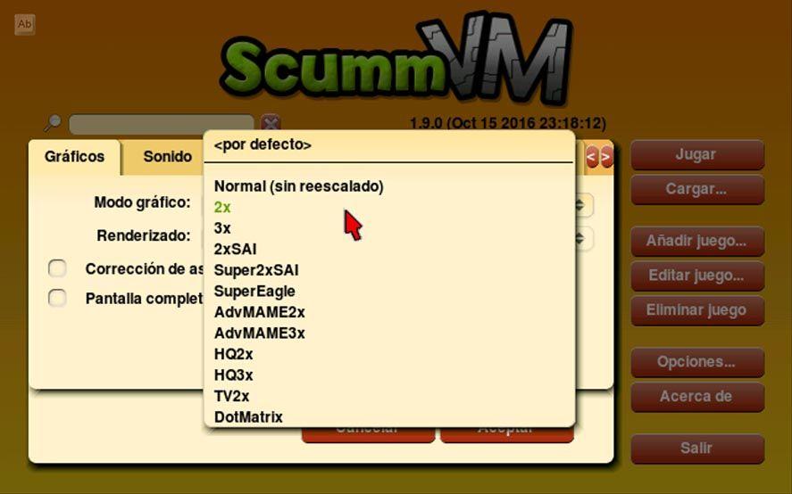 scummvm tutorial 5 1 Cómo configurar ScummVM en Android