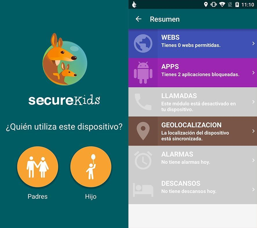 SecureKids for Android