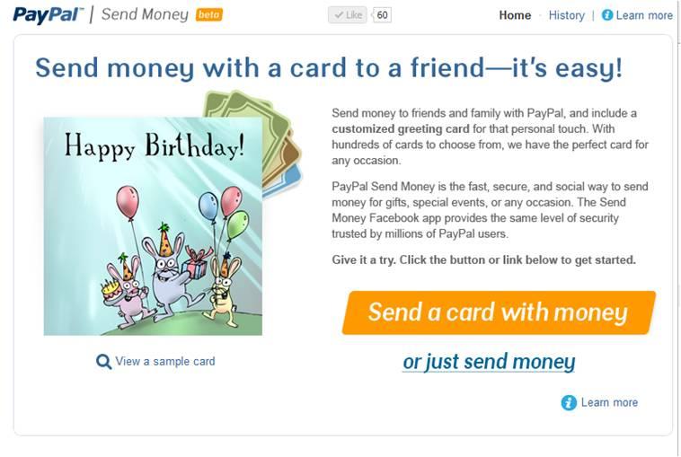 send money Envía dinero a tus amigos de Facebook con Paypal