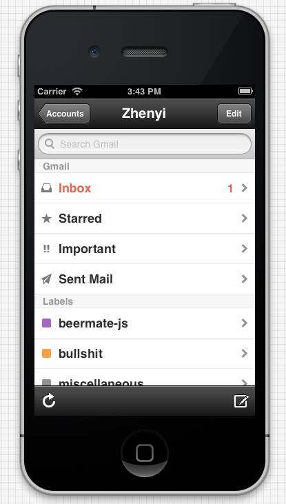 sent gmail Sent, la aplicación definitiva de Gmail para iOS