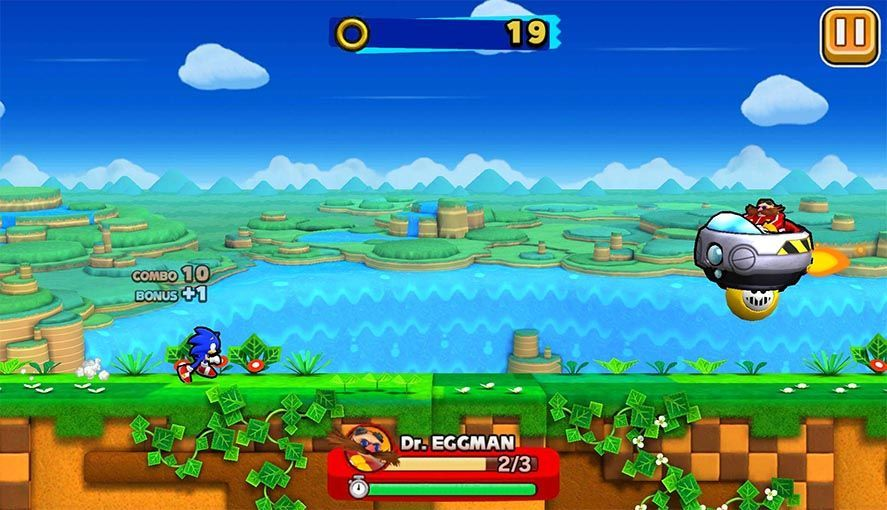 Sonic Runners Android screenshot
