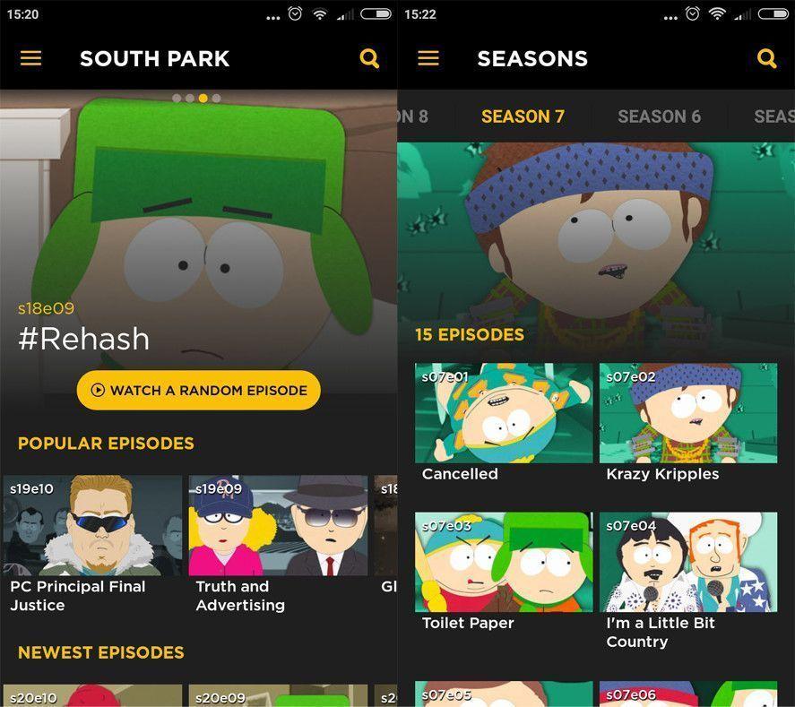 South Park app