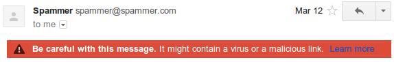 spam1 Gmail explica por qué un correo va a parar a la carpeta de spam