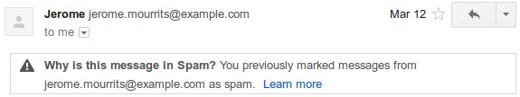 spam2 Gmail explica por qué un correo va a parar a la carpeta de spam