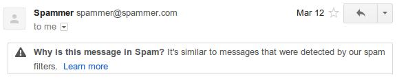 spam3 Gmail explica por qué un correo va a parar a la carpeta de spam