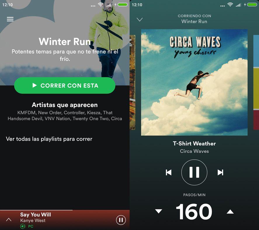 Spotify Correr