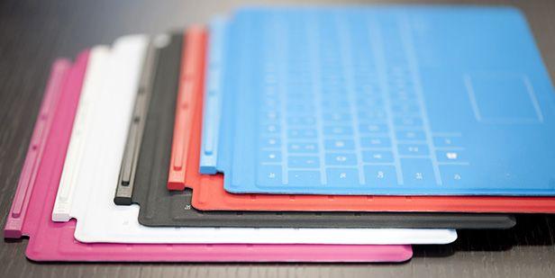 surface TouchCovers Surface RT llega a España el 14 de febrero y el modelo Pro a EEUU el día 9