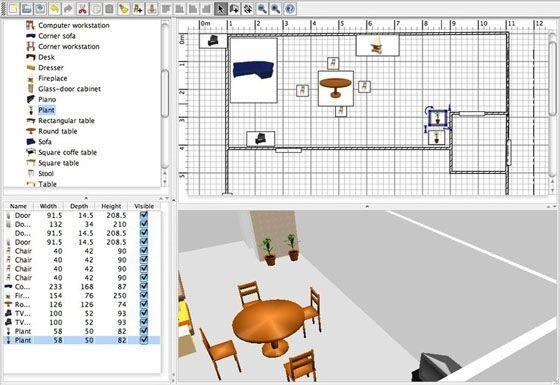 sweet home 3d2 Los mejores programas para diseñar la casa de tus sueños