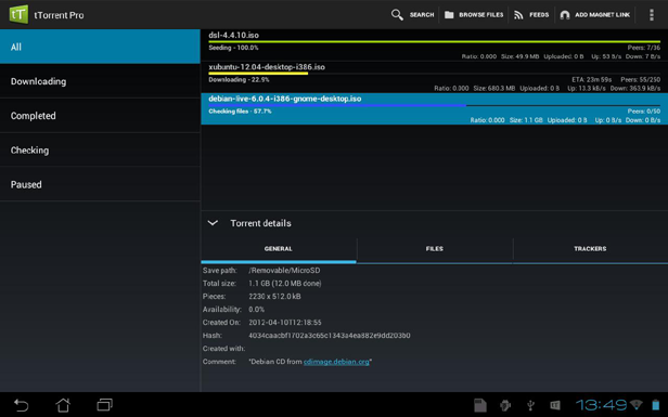 torrent search engine en uptodown com android
