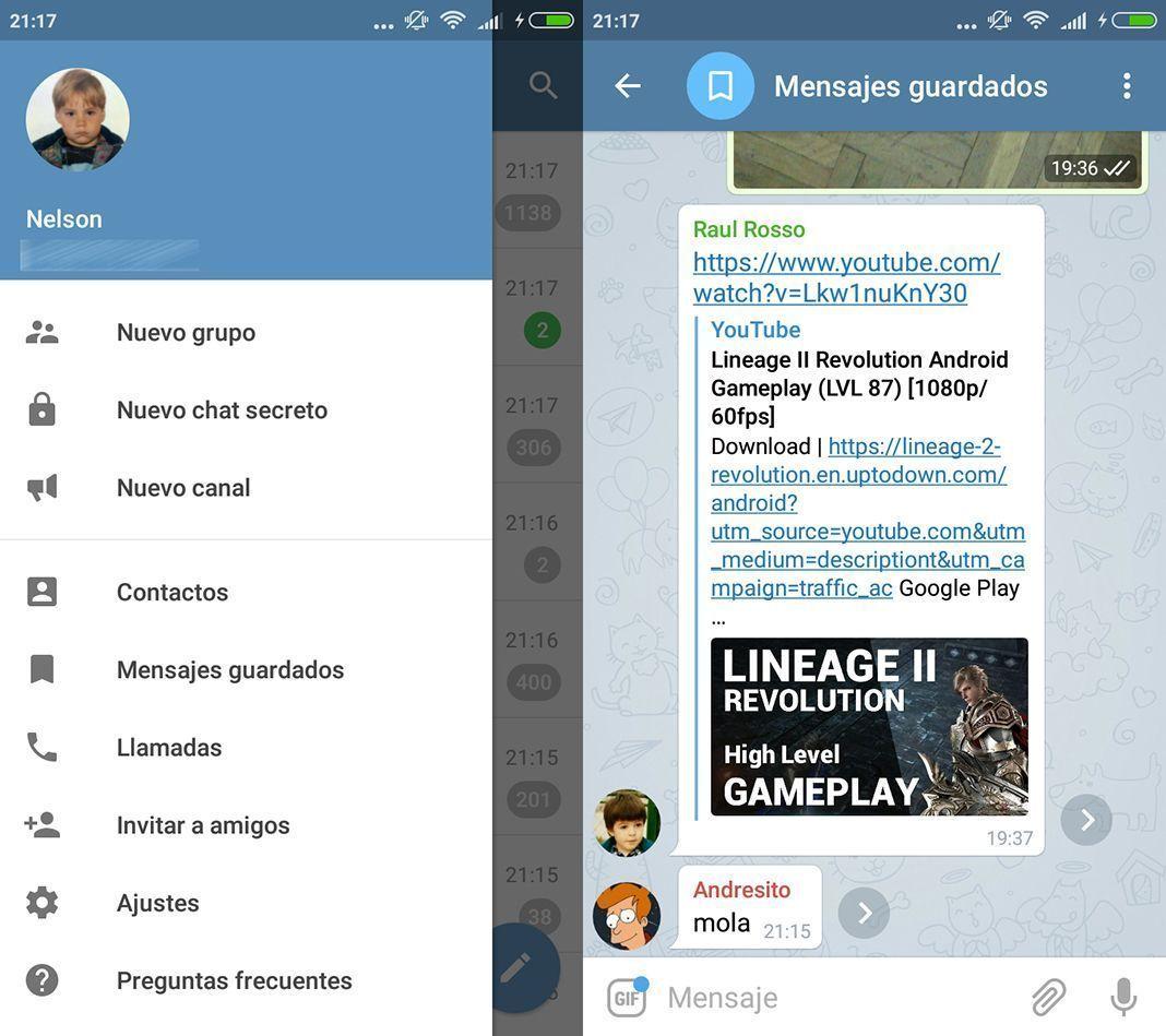 Telegram 4.5
