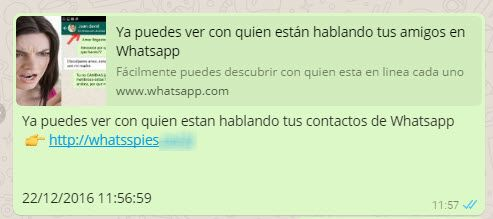 timo whatsapp espiar 2 Cinco estafas de WhatsApp en las que no debes caer
