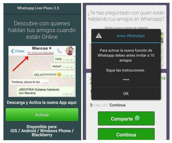 timo whatsapp espiar Cinco estafas de WhatsApp en las que no debes caer