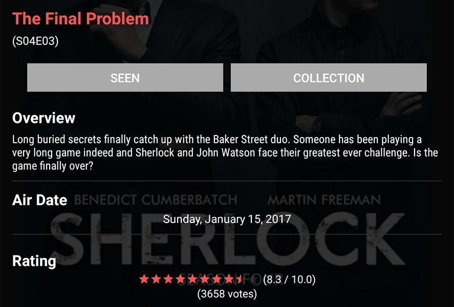 track my shows screenshot 2 Follow your TV faves with the Track My Shows app