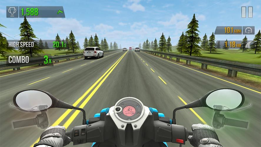 traffic rider featured Los diez mejores juegos para Android del 2016